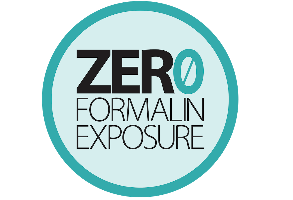 Zero Formalin Exposure