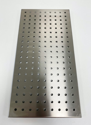 <b>Perforated shelf 250</b><br />P/N: 106751